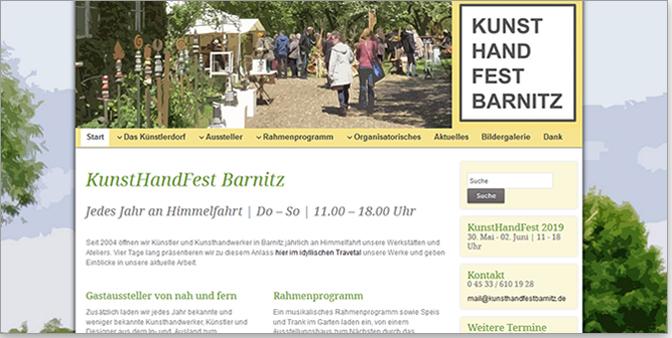 KunstHandFest Barnitz mit HERNEL