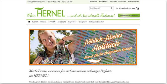 HERNEL-Tücher von Ute Elisabeth Herwig - Shop