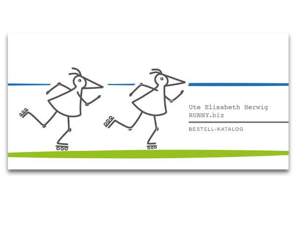Katalog RUNNY-Flitzvögel v Ute Elisabeth Herwig