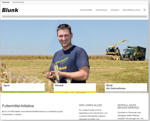 Büro Herwig: Marketing und Content-Redaktion für die Blunk Gruppe